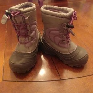 North face toddler size 11 winter boots